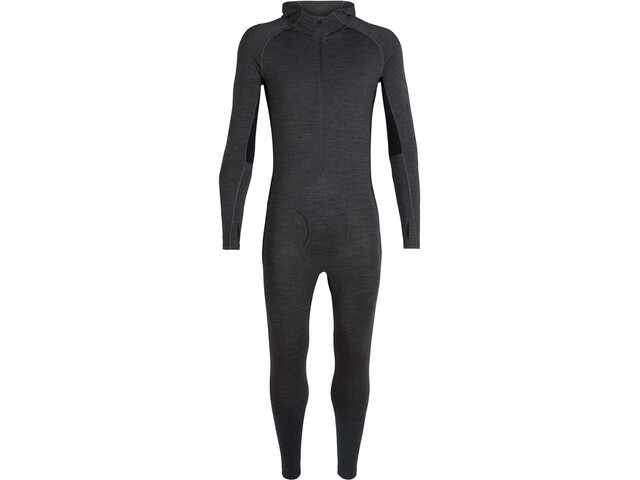 Icebreaker 200 Zone Traje One Sheep Hombre, jet heather/black